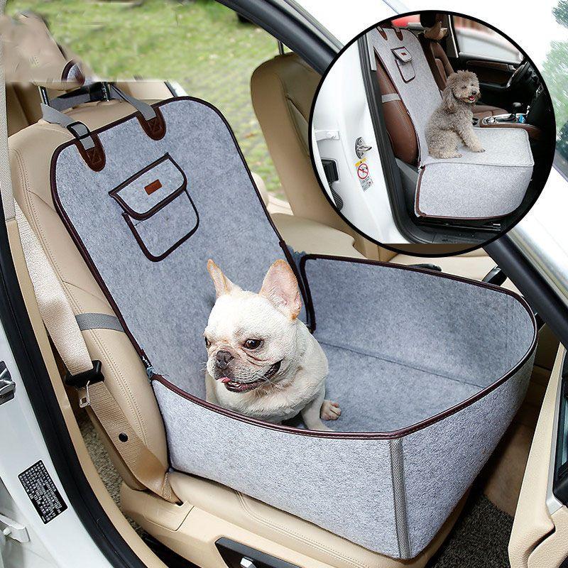 Универсальный водонепроницаемый автомобиль-конструктор собака перевозчик безопасности авто хранения сумки высокого качества щенок проти...