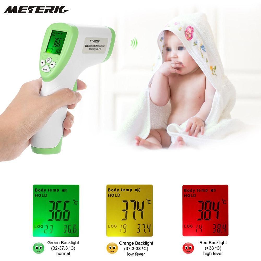 Digital Infrared Thermometer Multi-Function Non-contact Forehead Termometre Gun  Body Temperature Measurement