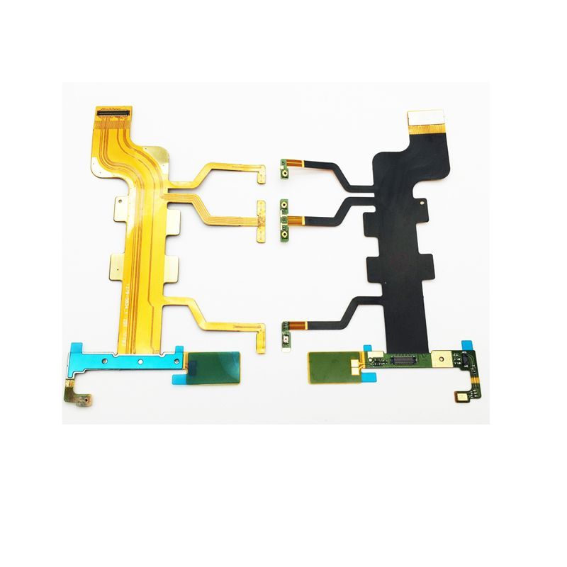Nouveau Microphone Volume Side Bouton Power Flex Câble Ruban Pour Sony Xperia T2 Ultra XM50h D5322 D5303 D5306