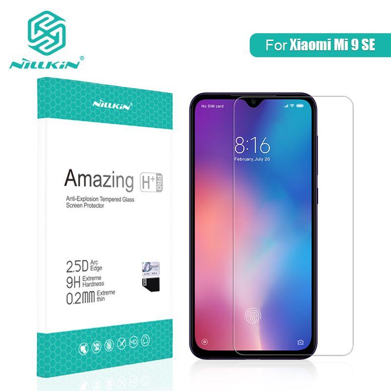 For Xiaomi Mi 9 SE Glass Screen Protector 5.97'' NILLKIN Amazing H/H+PRO Tempered Glass Protector For Xiaomi Mi 8 SE Glass 5.88