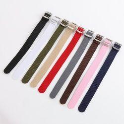 16 18 20 22mm Men Women Casual Watch Band nylon perlon straps weave straps watch strap Watch band