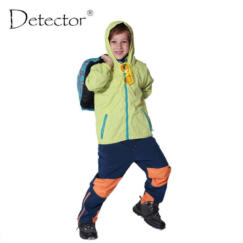 Kinder sport jacken für jungen und mädchen oberbekleidung Kinder Mäntel doppelstock Wasserdicht Winddicht Jungen Marke Jacken