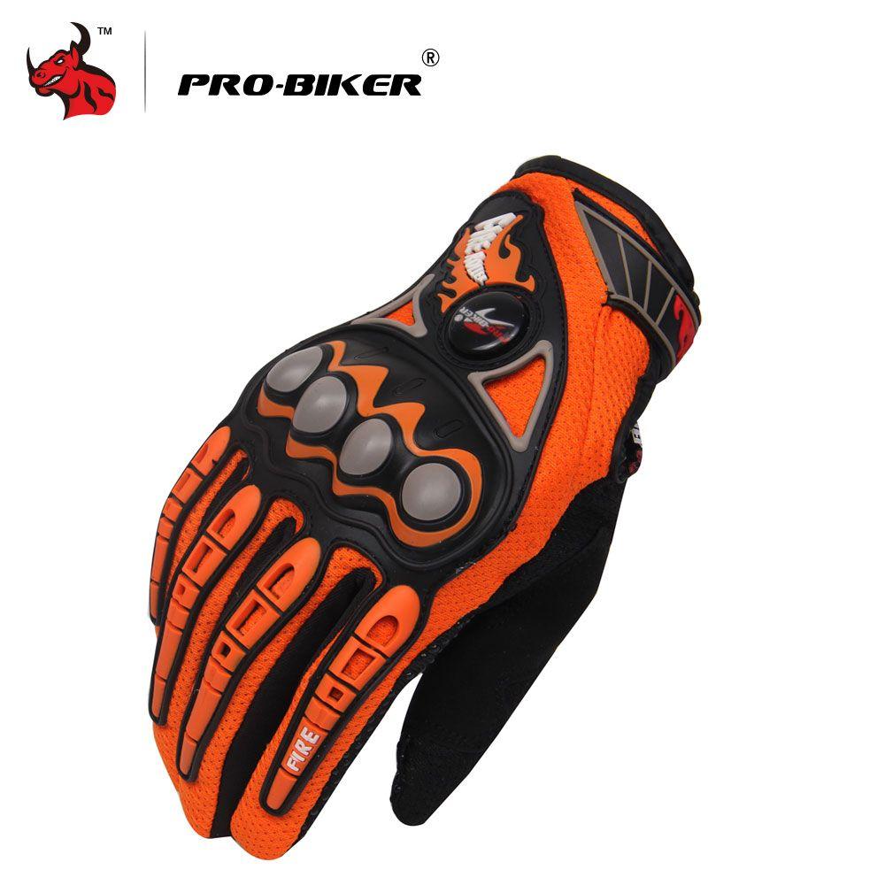 PRO-BIKER Motorcycle Riding Gloves Off Road Dirt Bike Motocross Motorbike Enduro Racing Gloves Breathable Luvas Da Motocicleta