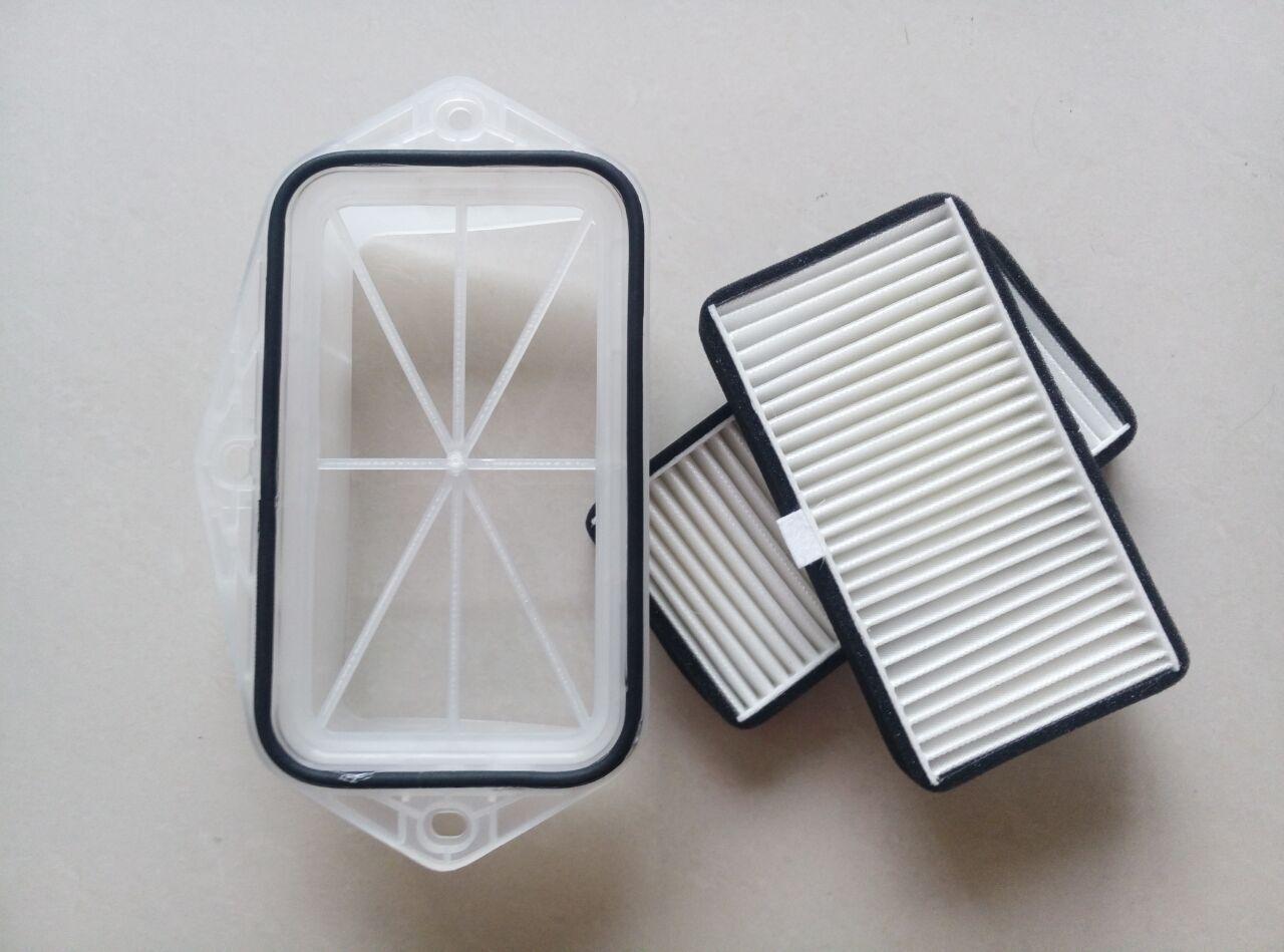 3 holes cabin filter for Vw Sagitar CC Passat Magotan Golf Touran audi Skoda Octavia external air filter #ST100