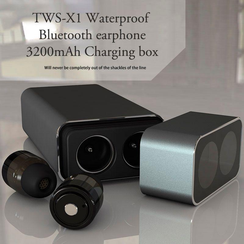 TWS M780 Twins Wireless Earbud Bluetooth earphone Stereo 3200mAh Power Bank for phone sport waterproof with microphone