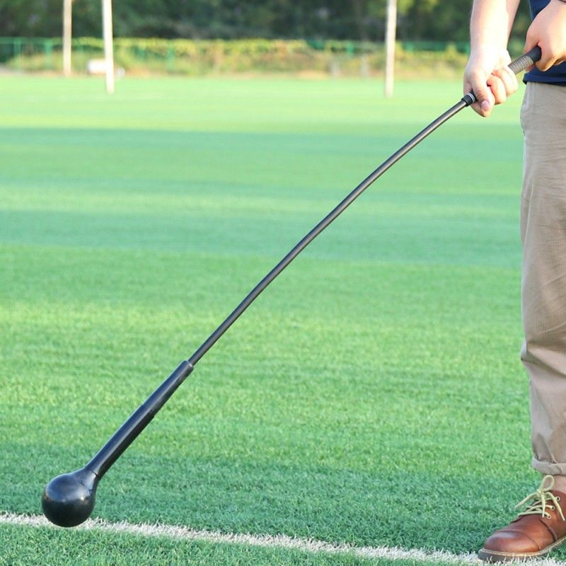 Golf Training Aids Golf Swing Trainer Deformation <font><b>Balance</b></font> Muscle Workout High Density EVA Soft Stick Training Stick 2 Colors