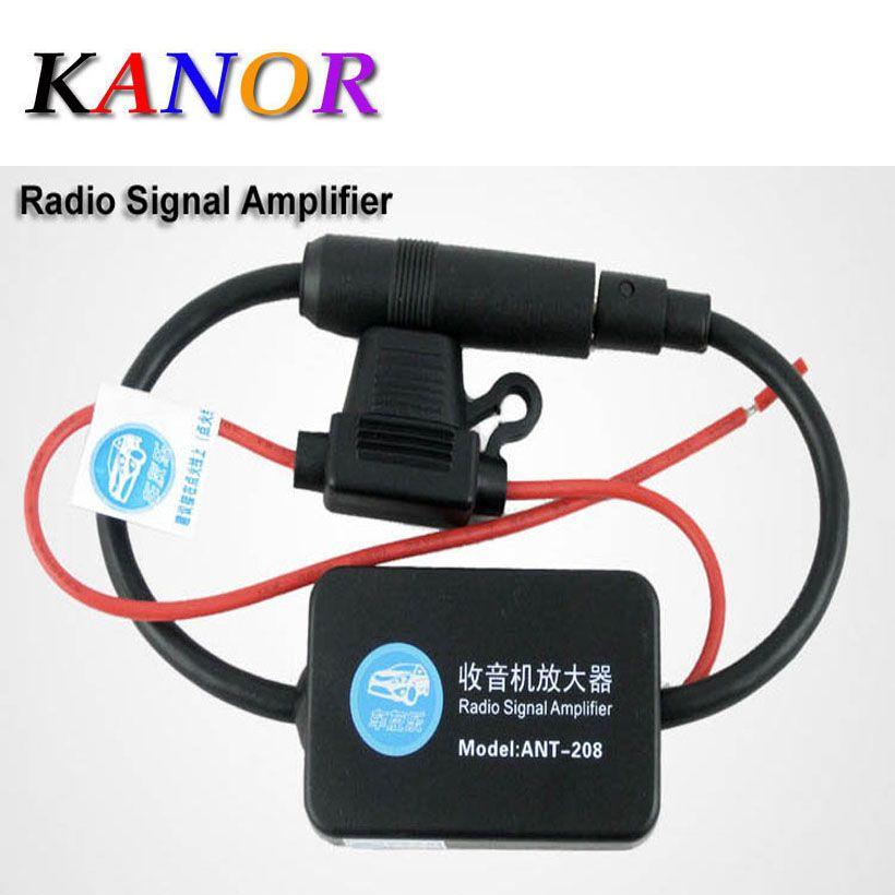 Автомобильная антенна Телевизионные антенны 12 В автомобильные Радио сигнала Усилители домашние Ant-208 авто FM/AM Телевизионные антенны Усилит...