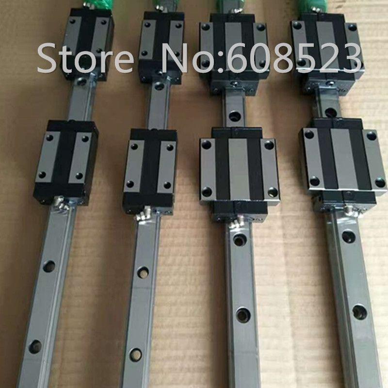 6 set HB20 linear rail+ 3x SFU1605-350/700/1000mm Ballscrew sets + BK BF12 +couplers for CNC
