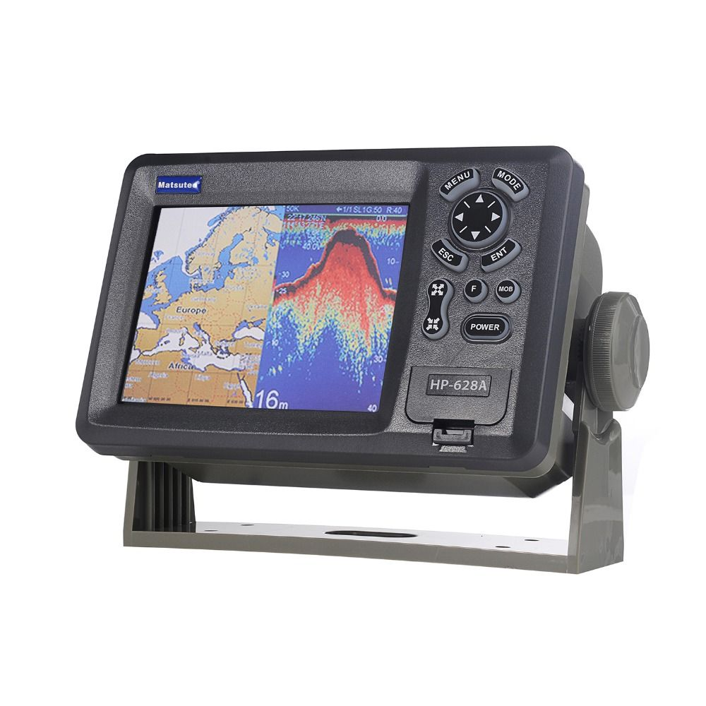 Matsutec HP-628A 5.6 Color LCD Class B AIS Transponder Combo High Sensitivity Marine GPS Navigator