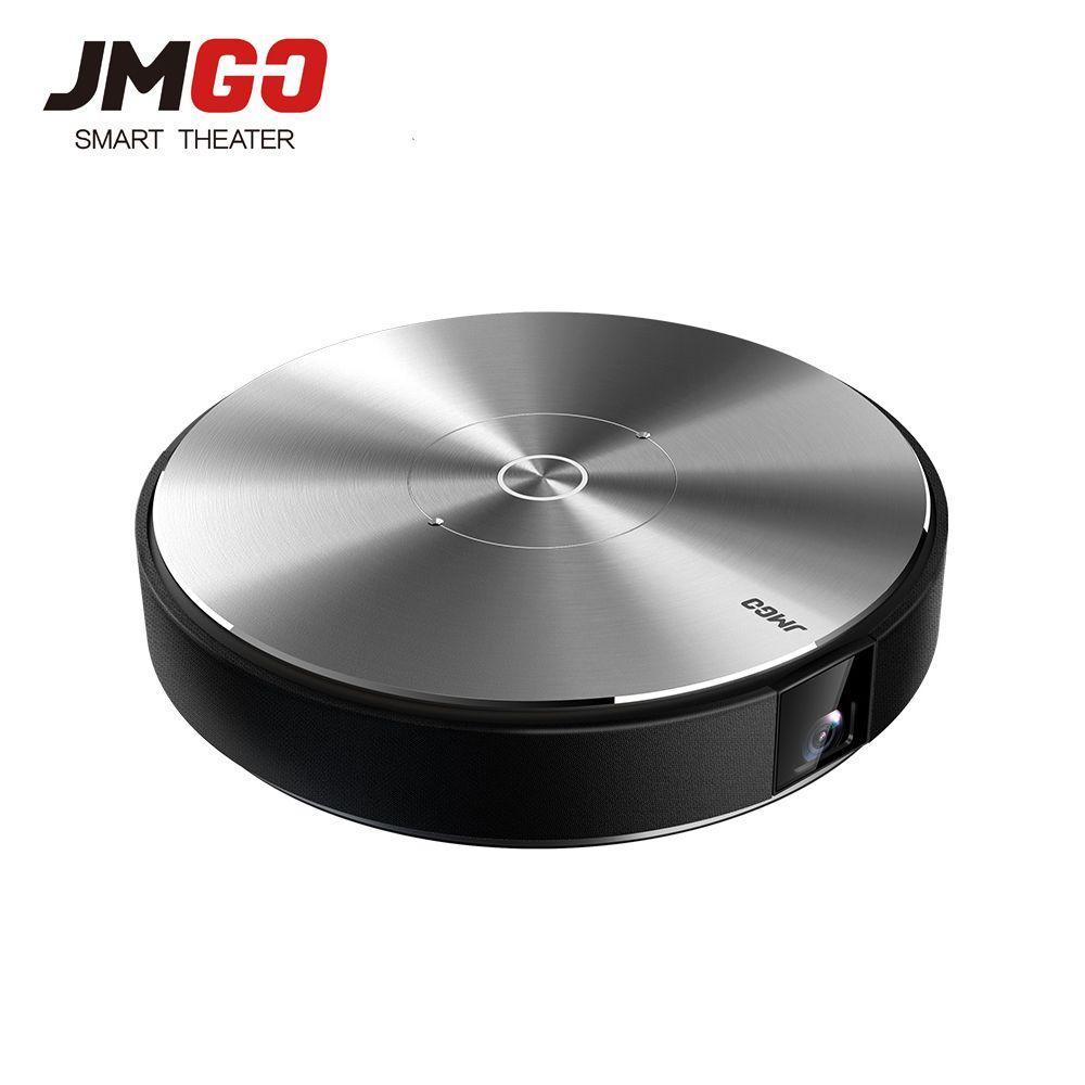 JmGO N7L Volle HD Projetor 1980*1080 p Heimkino, 2g + 16g, 700 ANSI Lumen, 300 zoll, HDMI, USB, Bluetooth Android WIFI Unterstützung 4 karat 3D