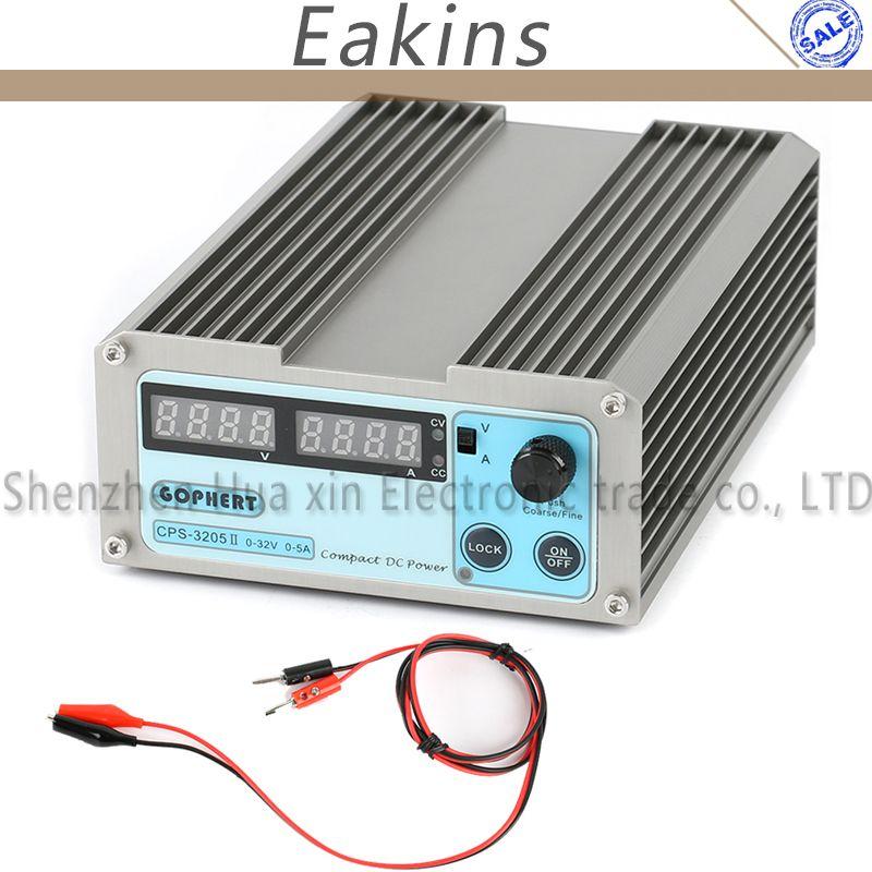 Gophert точность компактный цифровой коммутатор Регулируемый DC Питание ovp/ocp/otp низкая Мощность 32 В 5A 30 В 110 В-230 В 0.01 В/0.001a ЕС