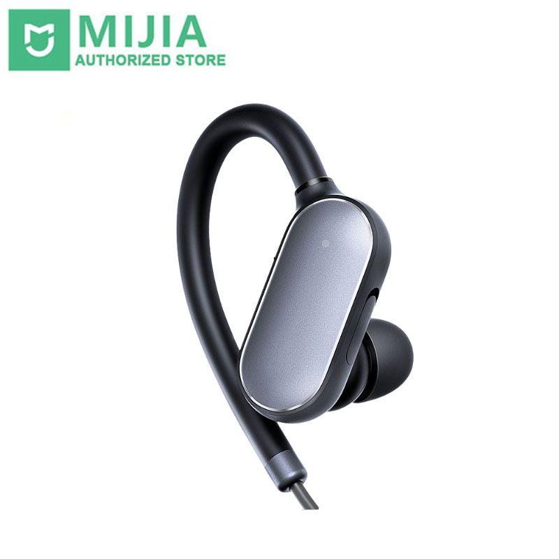 Original Xiaomi Mi Sport Bluetooth Headset Bluetooth 4,1 Musik Ohrhörer Mic IPX4 Wasserdichte Drahtlose Kopfhörer für Xiaomi Mi6