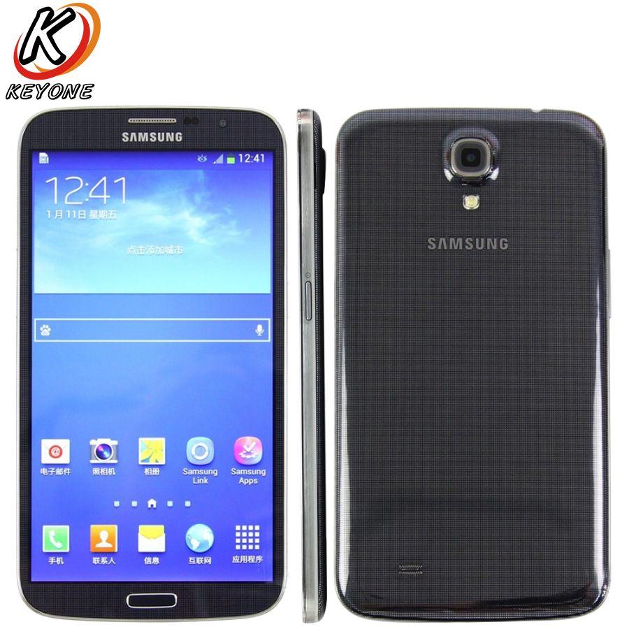 Original Samsung Galaxy Mega 6.3 I9200 Mobile Phone 6.3 inch Dual Core Snapdragon 1.7GHz Android 3200 mAh Smart Phone