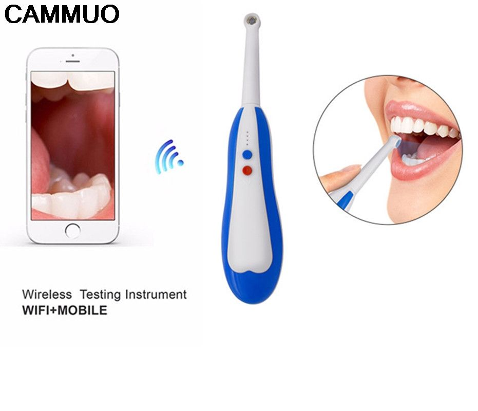 Oral Dental Wireless Wifi Intraoral Camera Endoscope Borescope Led Light USB Camera Teeth Photo Shoot Dentist Intra Oral Camera