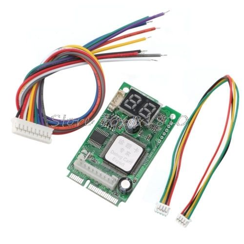 Laptop PCI PCI-E Analyzer Tester Diagnostic Post Test <font><b>Card</b></font> for COMPAL Z09 Drop ship