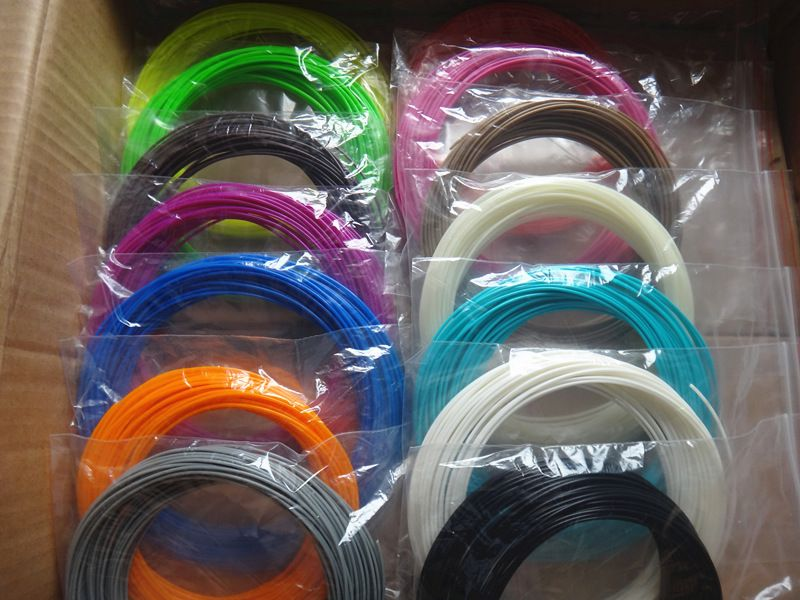 22 color or 20 color or 10 color/set 3D Pen Filament ABS/PLA 1.75mm Plastic <font><b>Rubber</b></font> Printing Material For 3D Printer Pen Filament