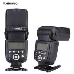 YONGNUO YN 560 III IV Master Flash Speedlite para Nikon Canon Olympus Pentax DSLR Cámara Flash Speedlite Original