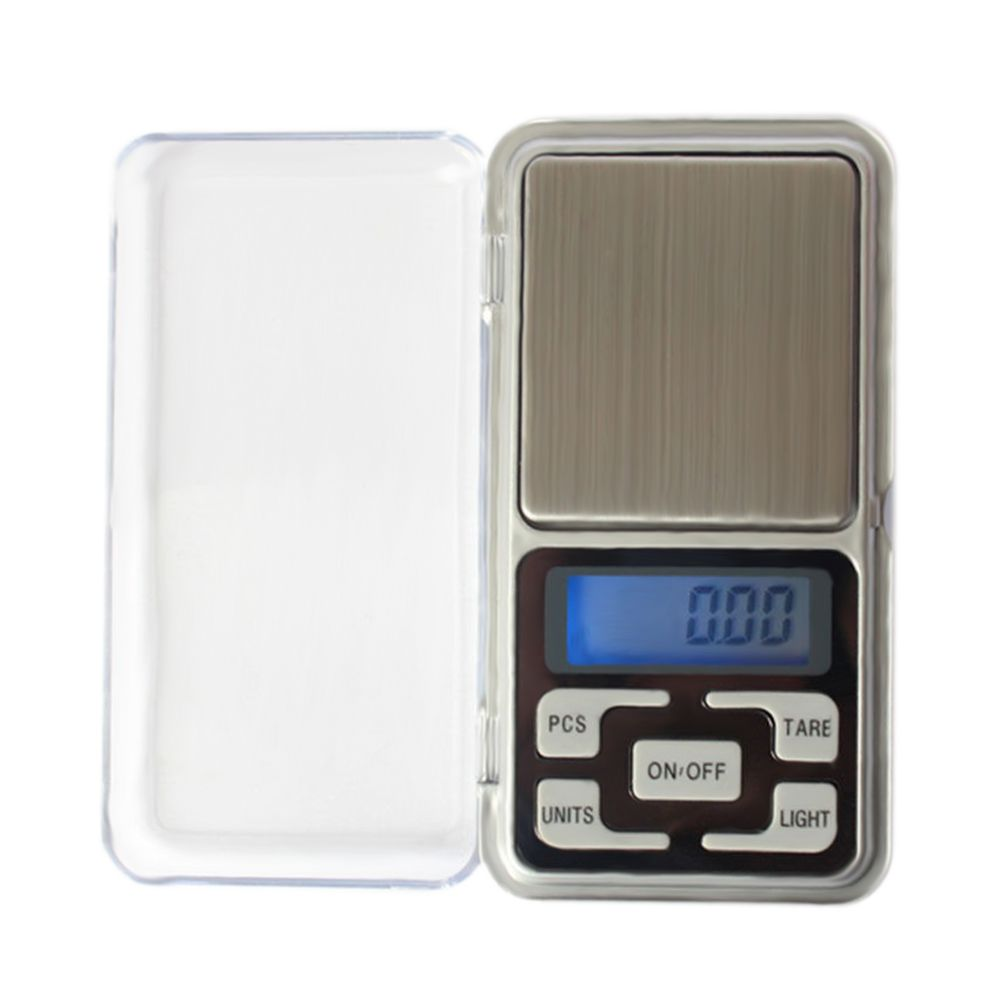 Portable 200g x 0.01g Pocket Digital Scale Tool LCD Electronic Jewelry Diamond Gold Herb Balance Weighting Scales Blue Backlight