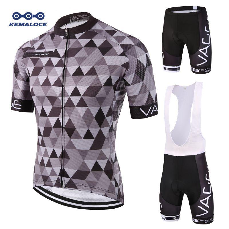 Kemaloce 2019 montagne équipe vêtements de cyclisme ensemble Maillot Ropa Ciclismo hommes vêtements de vélo route cycliste vélo vêtements uniformes Kits
