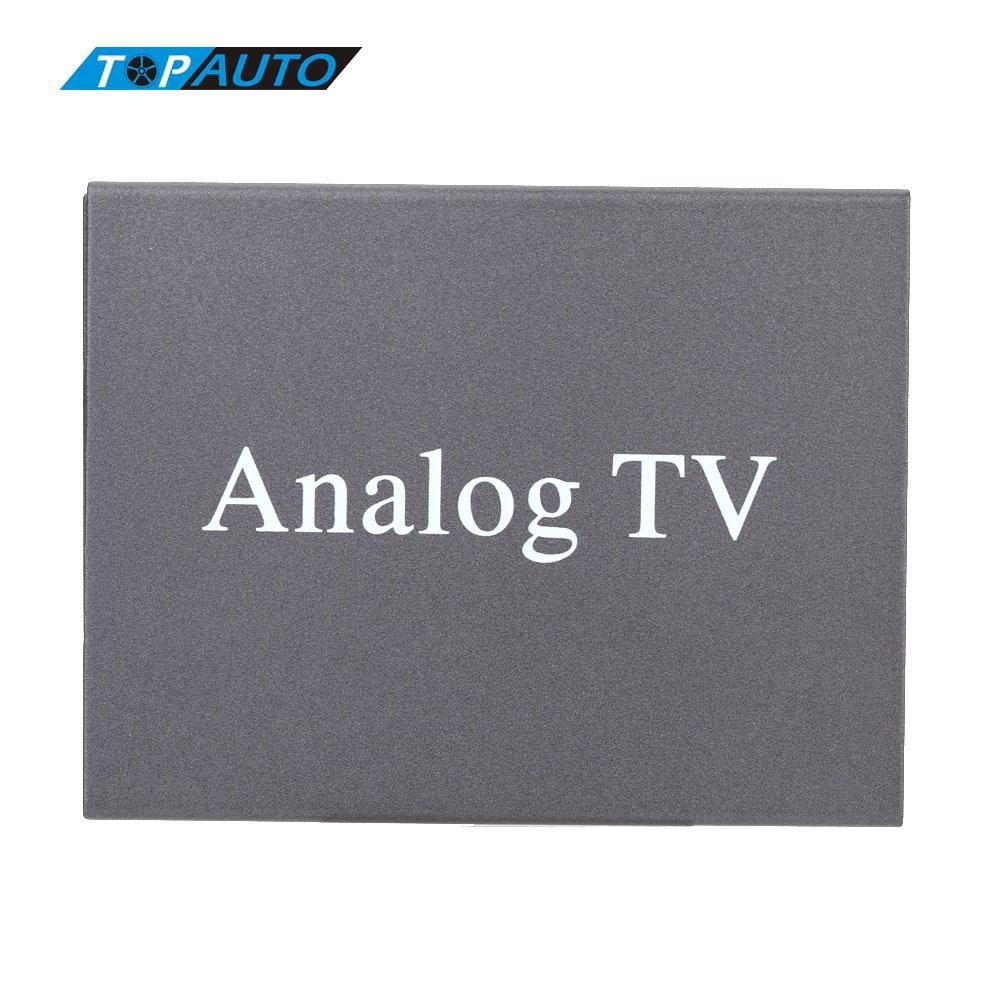 Super Mini Metal Design DVB Car DVD TV Receiver Easy Installation Monitor Analog TV Tuner Strong Signal Box with Antenna