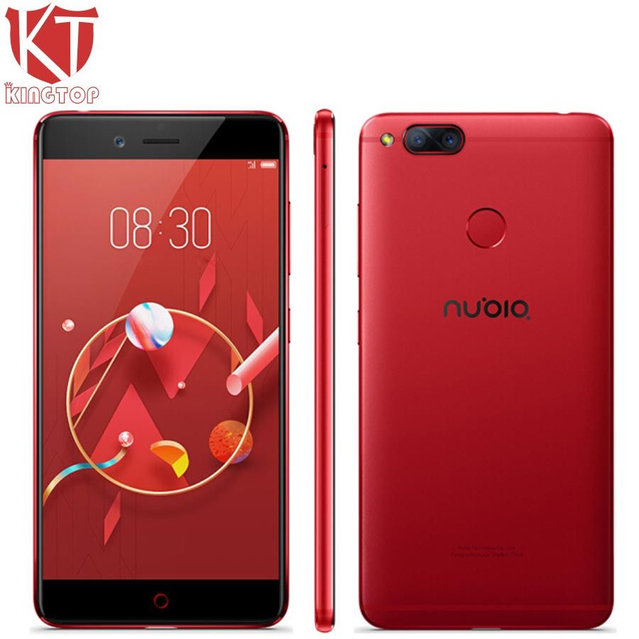 KT New ZTE Nubia Z17 Mini 4G Mobile Phone 4GB/6GB RAM 64G ROM 5.2 inch 1920*1080px Front 16.0MP Dual Rear 13.0MP Fingerprint NFC