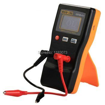 Professionnel Numérique ESR Résistance Capacité Compteur Auto Affichage LCD 100 KHz En Circuit Tester Capacité Condensateur Test