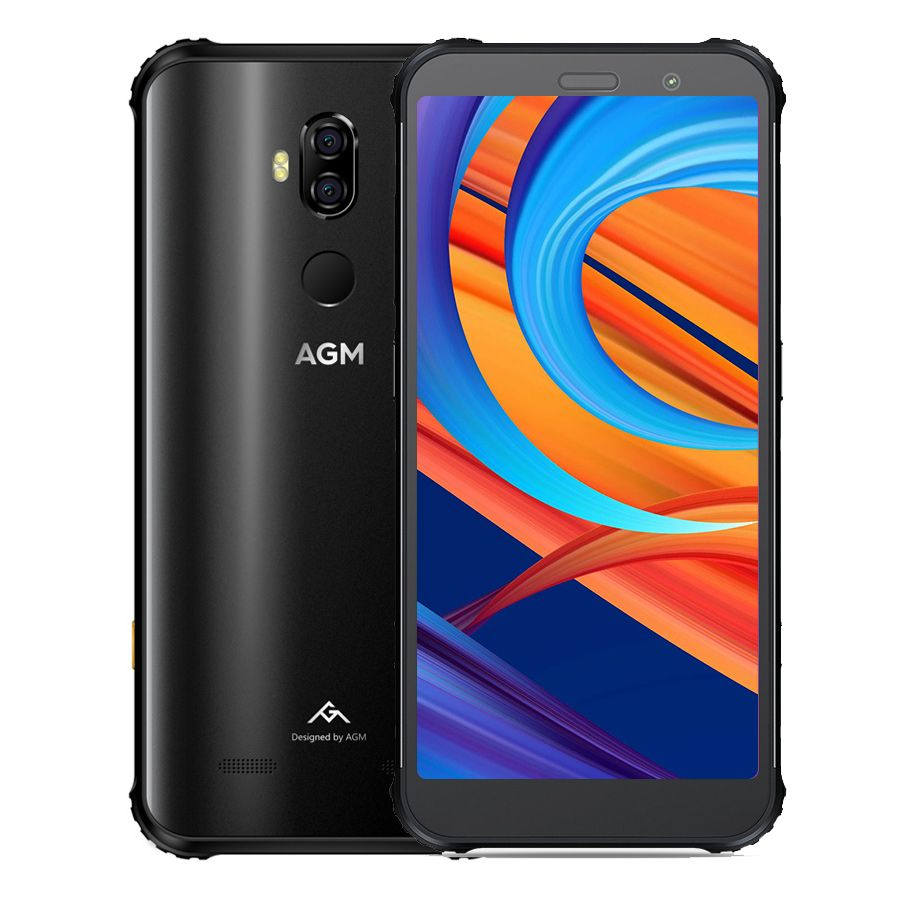 AGM X3 8 GB 256 GB SmartPhone 5,99 FHD 18:9 Snapdragon 845 Octa Core 20MP + 24MP Android 8.1 OTG NFC IP68 Wasserdicht 4G Handy