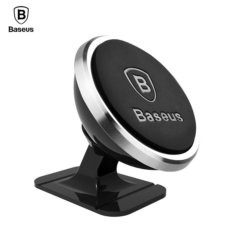 Baseus Magnetic Car Phone Holder For iPhone Xs Max X 8 Samsung S9 Magnet Mount Car Holder Stand Cellphone Holder Support In Car