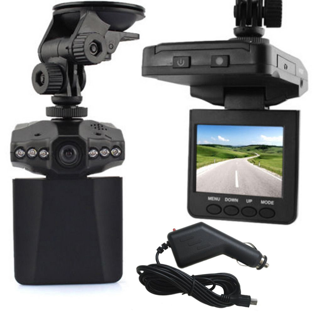 New 2.5 HD Car  Camera Recorder LED DVR Road Dash Video Camcorder LCD 270 Degree Wide Angle Motion Detection High Quality~