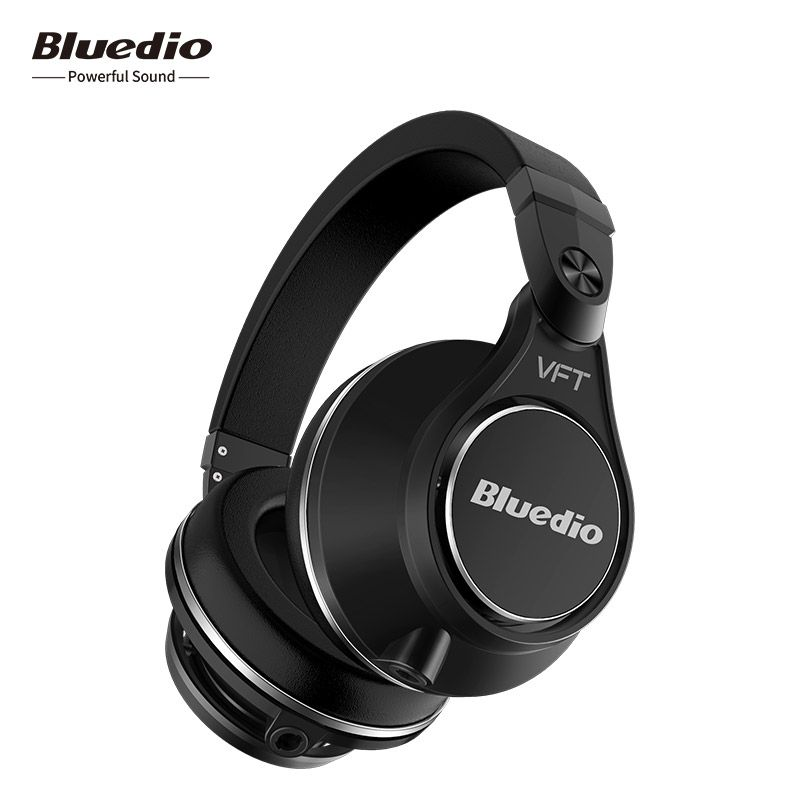 Bluedio UFO <font><b>Plus</b></font> High-end Wireless Bluetooth Headphones PPS 12 Drivers Headband headsets Built-in mic for phone iphone xiaomi