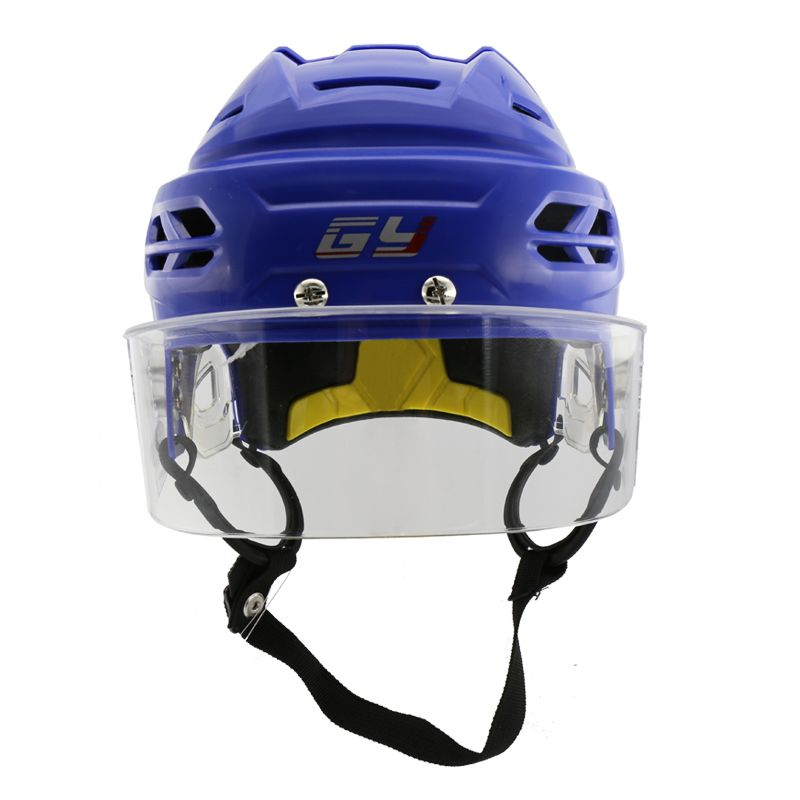 Professional Protective Gear CE HECC CSA Approved Ice Hockey Player Helmet with Anti-fog Anti-scratch Hockey Visor Free Shipping