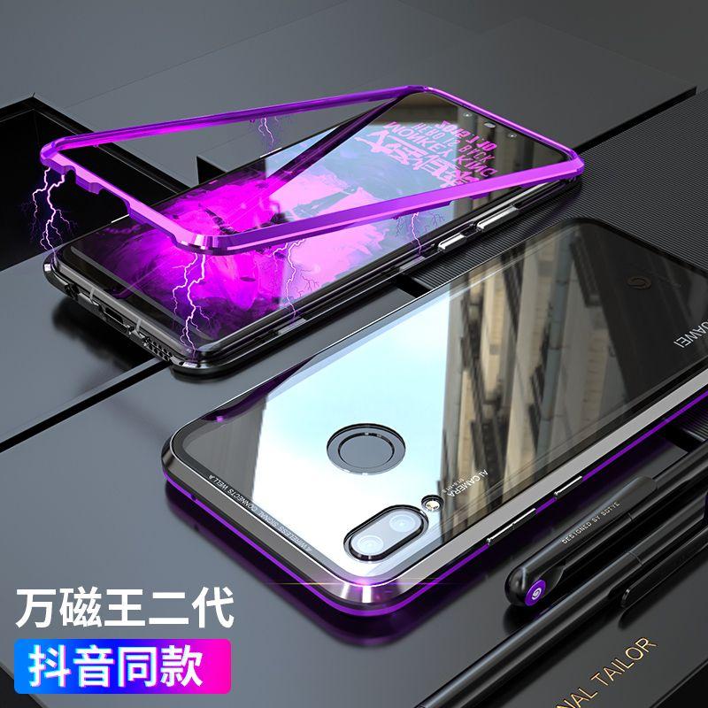 Nova3 Fall Magnetic Cases Für Huawei Mate 20 Fall Zurück Abdeckung Gehärtetem Glas Schutz Funda Coque Für Huawei Nova3 3i 4e i3 e4