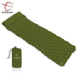 Hitorhike Topselling Inflatable Sleeping Pad Camping Mat With Pillow air mattress Sleeping Cushion inflatable sofa three seasons