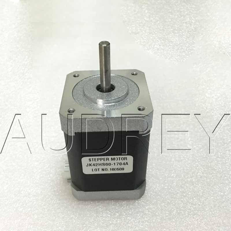42HS60-1704A 1,8 grad 2 Phase hybrid schrittmotor NEMA17 42mm 5,1 V 1.7A 7.3KG.CM 21 Watt 3000 RPM 4 adern schrittmotor 3d drucker