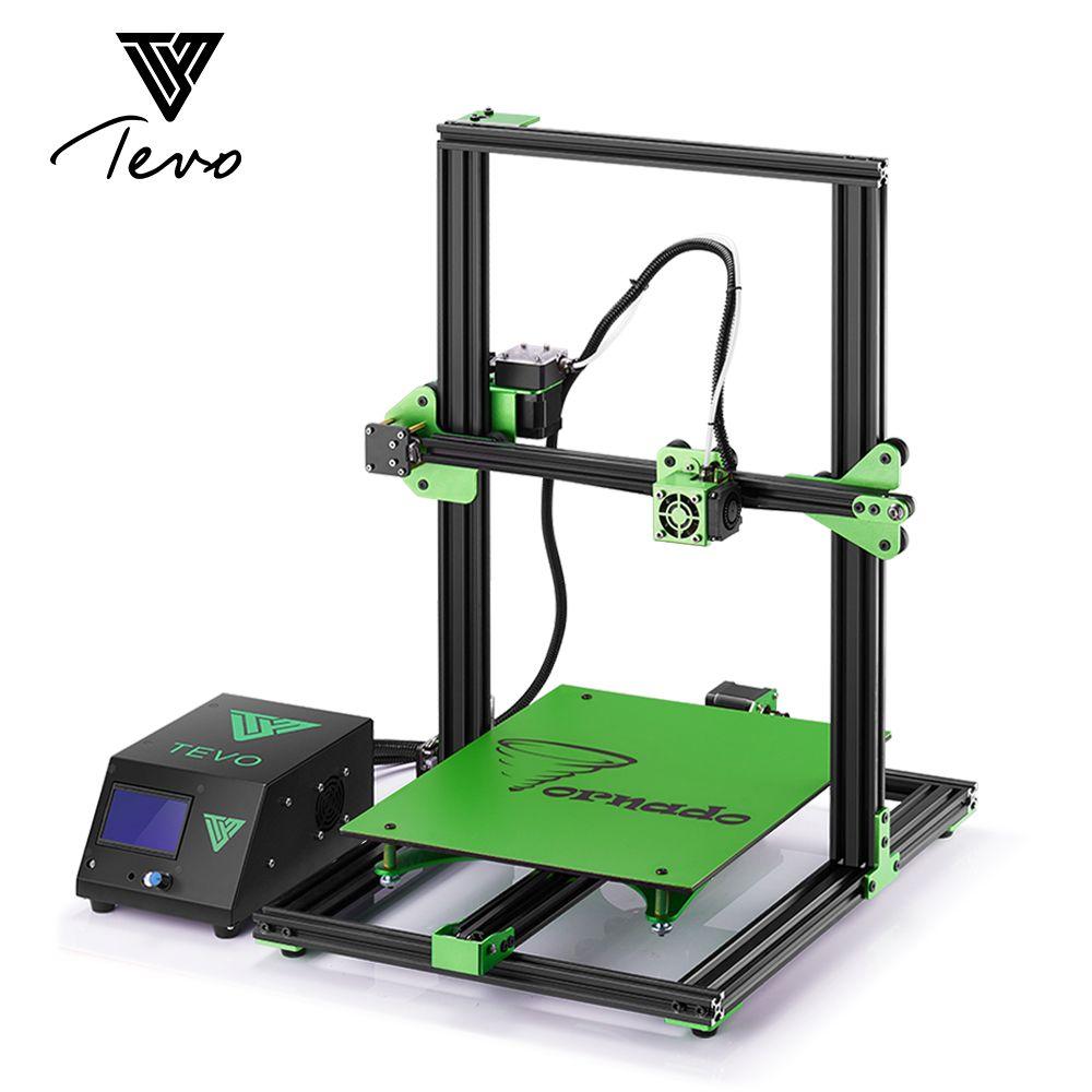 TEVO Tornado Impresora 3D Fully Assembled Impressora 3D Full Aluminium Frame with Titan Extruder 300*300*400mm Printing Area