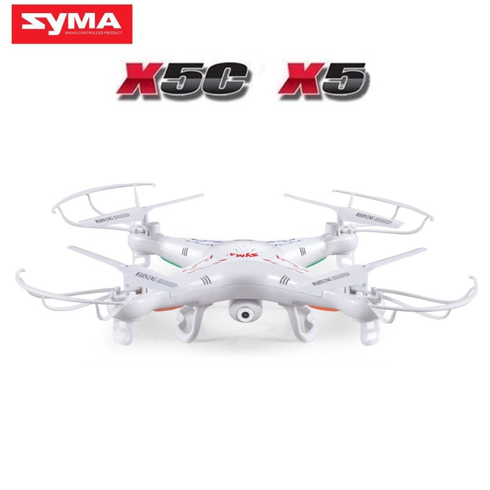 100% Original SYMA X5C (Upgrade Version) RC Drone With 2MP HD Camera 6-Axis RC Quadcopter Helicopter X5 Dron Without Camera