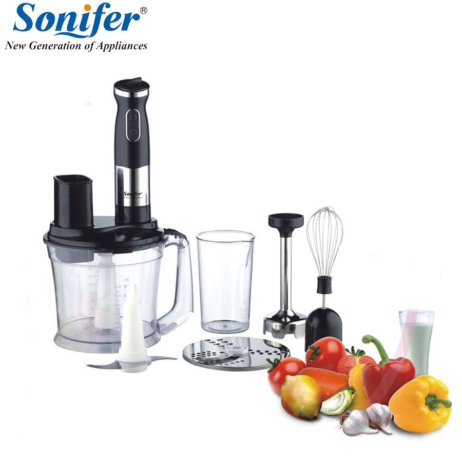 500W Multifunction 5 speed electric food blender mixer kitchen hand blender egg beater vegetable Meat Grinder blend Sonifer