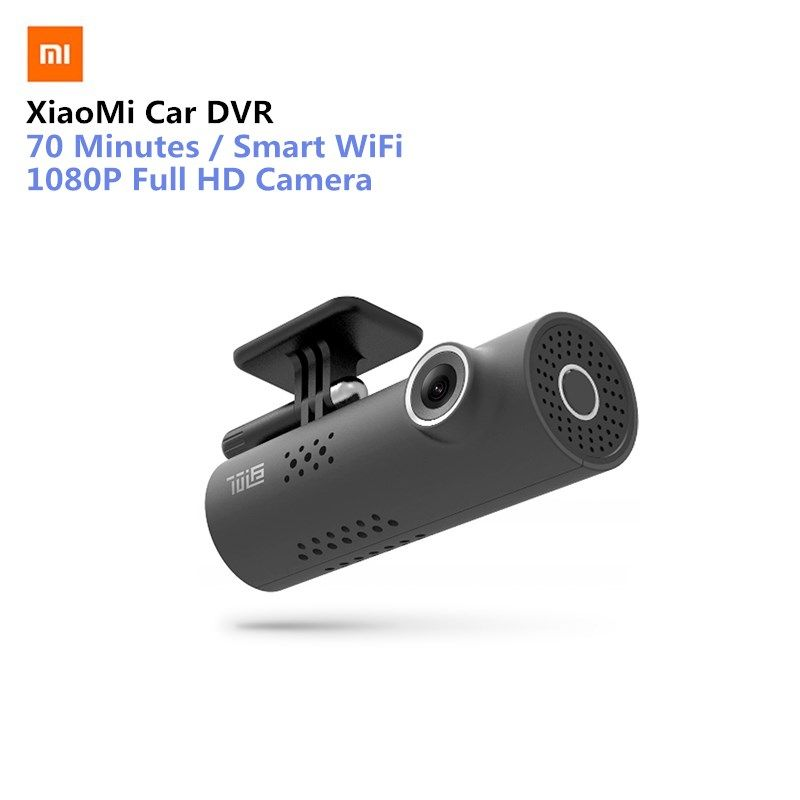 English Version Xiaomi 70 Minutes 1080P Full HD Camera Smart WiFi Car Camera Mstar 8328P Sony IMX323 1080P 30fps for Car