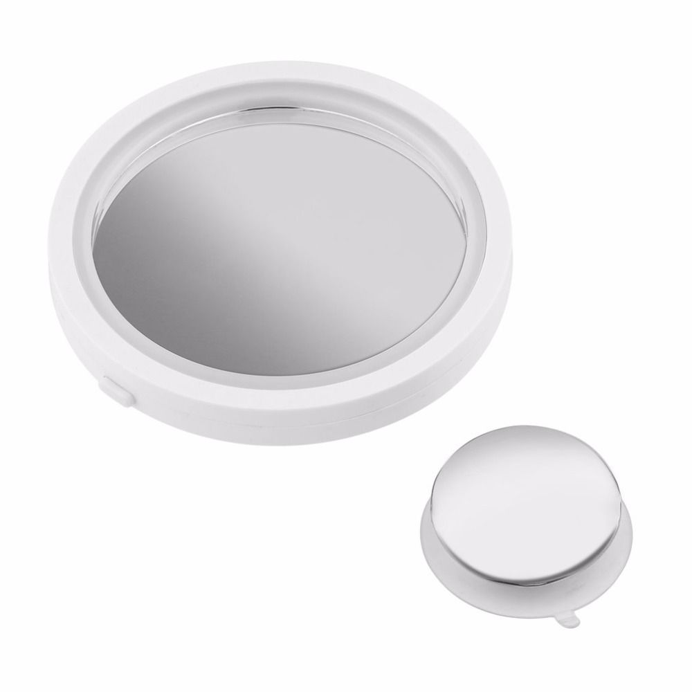 Portable Size 360 Degree Rotation Makeup Mirror Women Professional 8X Magnification LED Bright Light Make up Mirror