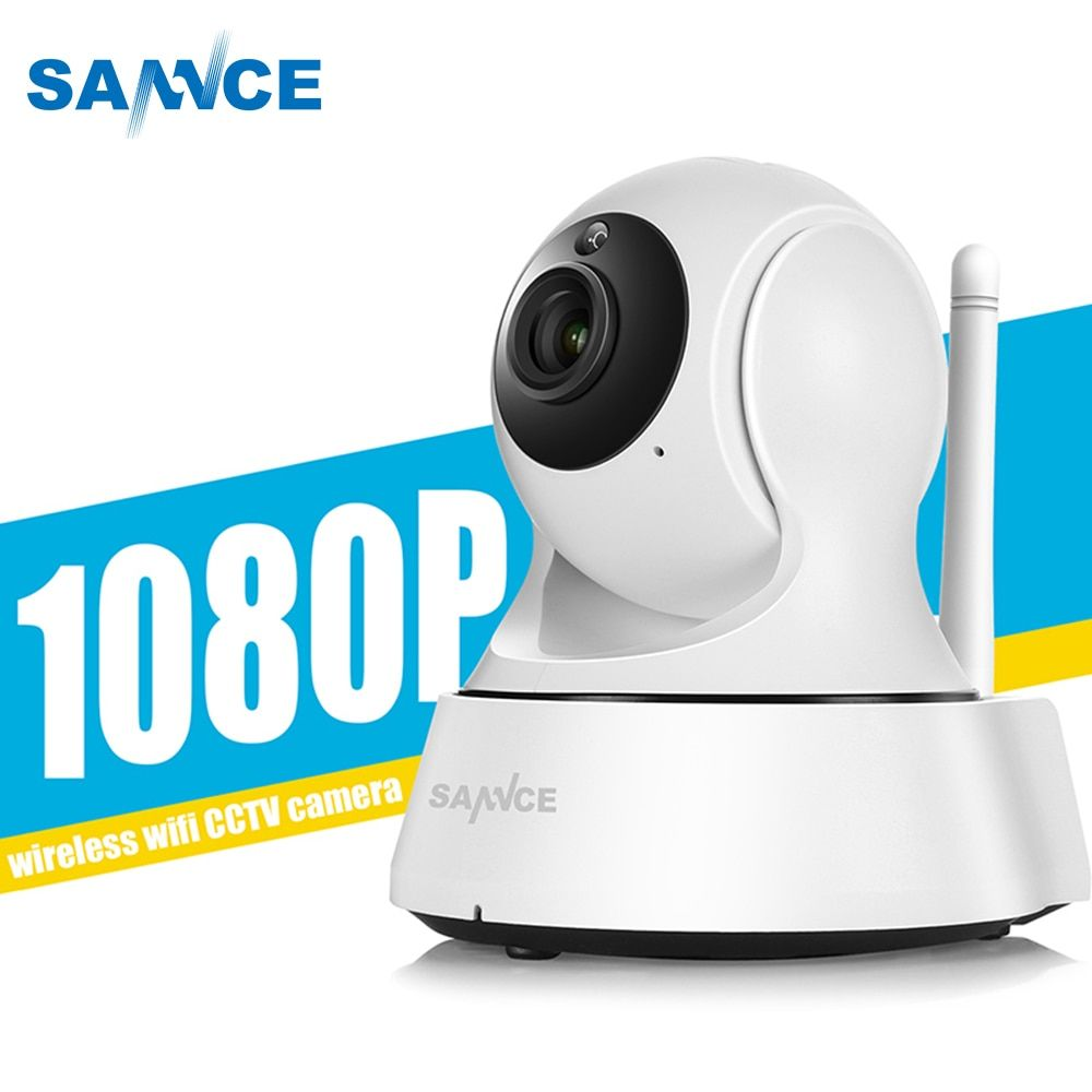 SANNCE WiFi IP Camera 720P 1080P CCTV Security Camera Night Vision Infrared Two Way Audio 1MP Baby Camera Monitor Wireless <font><b>Cam</b></font>