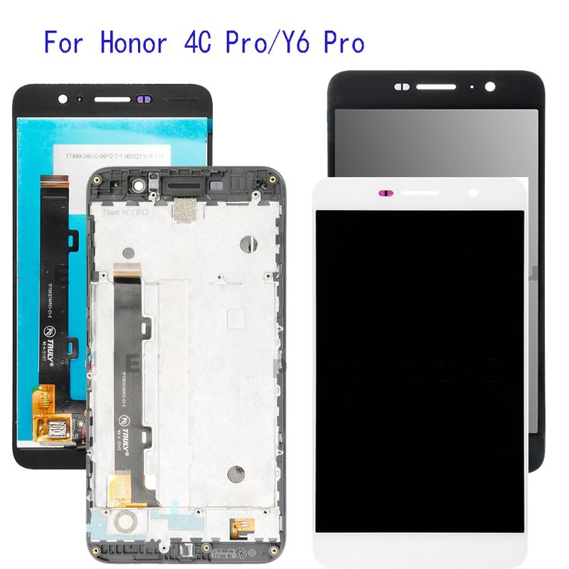 5.0'' With Frame Display For Huawei Honor 4C Pro TIT-L01 LCD Display Touch Screen Digitizer Assembly Replacement +Frame +Tools