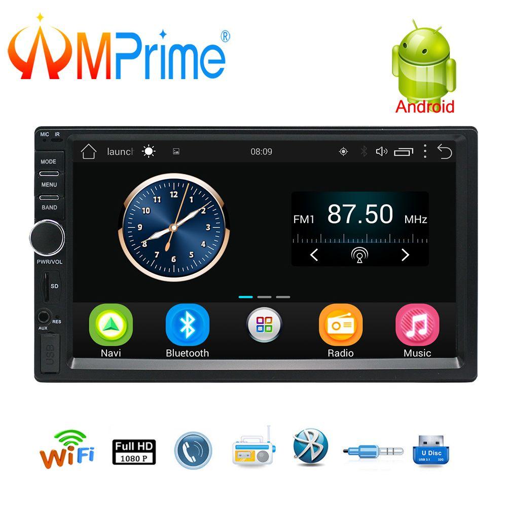 AMPrime 2 Din Android Car Radio GPS Navigation 7
