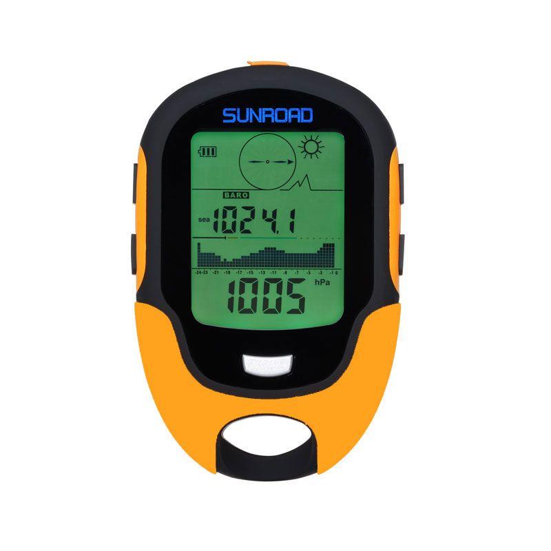 SUNROAD FR500 Digital Sports Men Watch-Altimeter Pocket Barometer Compass Thermometer Wristwatch ManHygrometer Relogio Masculino