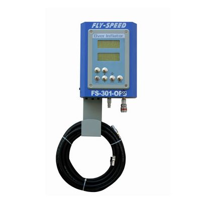 Tyre Inflation Bay With LED Display Rapid Aerator Wall-Mounted Tire Automatic Inflator Machine