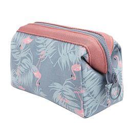 OLAGB Neue Mode Polyester Multifunktionale Frauen Kosmetik Tasche Tragbaren Speicher Reisen Hohe Qualität Make-Up Tasche
