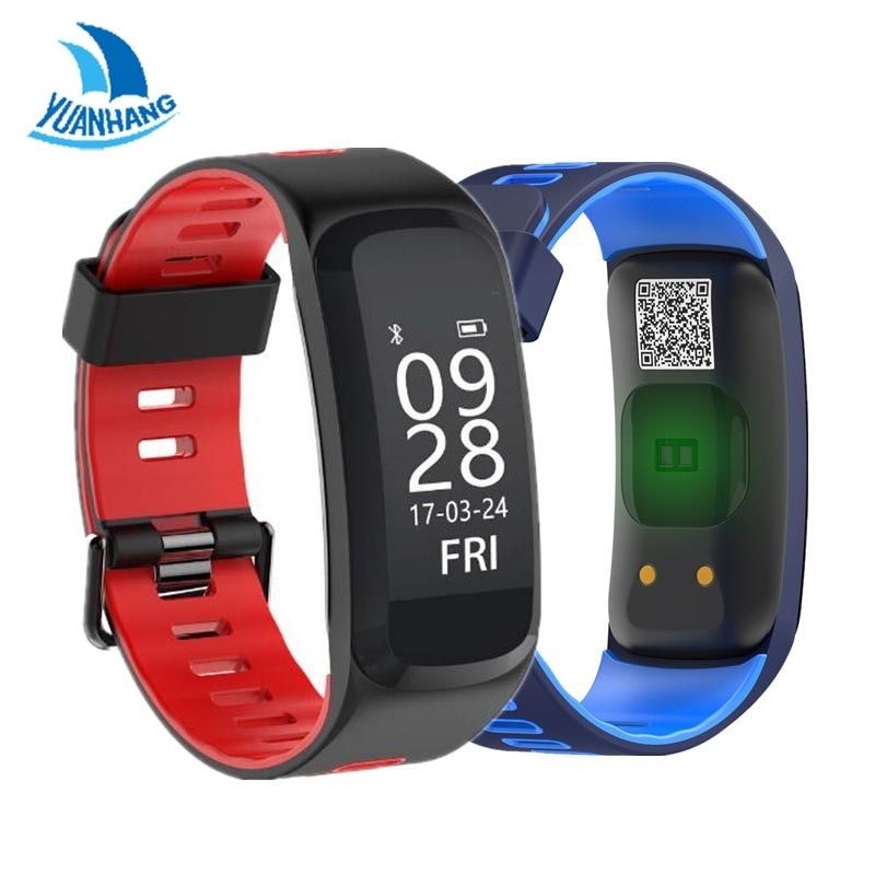 Yuanhang Smart GPS Sport Bracelet IP68 Waterproof Fitness Band Blood Pressure Blood Oxygen Heart Rate Monitor Wristband Watch
