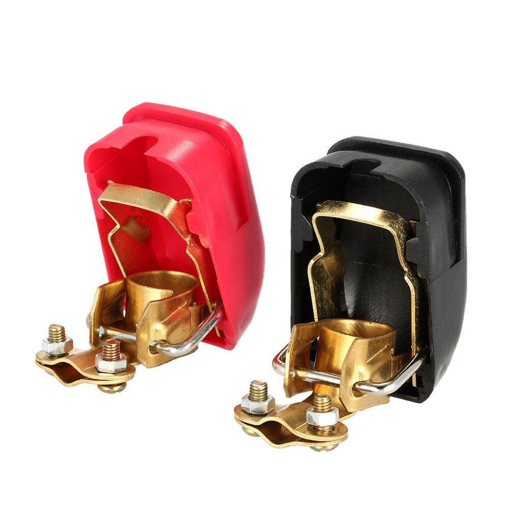 2PCS Auto Car 12V battery Terminal  Connector Switch Quick Release Connectors Battery Quick Disconnect Terminals