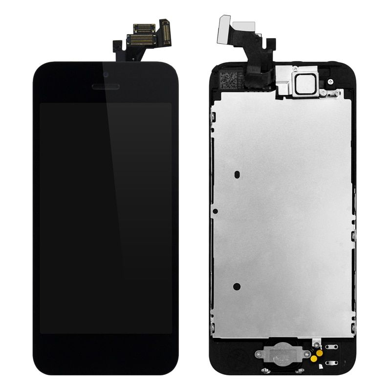 100PCS/Lot Full Set LCD For iPhone 5 LCD Display with Screen Touch Assembly With Digitizer Free Shipping