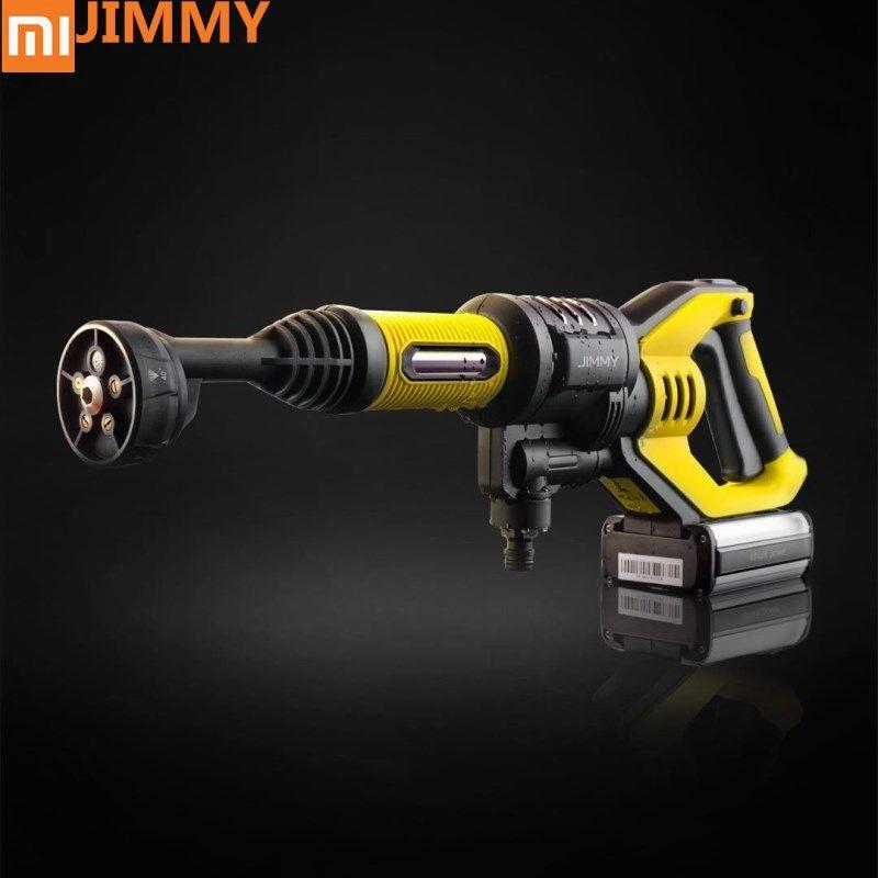 Original xiaomi Jimmy Handheld Wireless Waschen Gun 180 watt 2.2MPA 180L/H Hohe Presse Waschen Gun für Hause Im Freien auto Reinigen Waschen