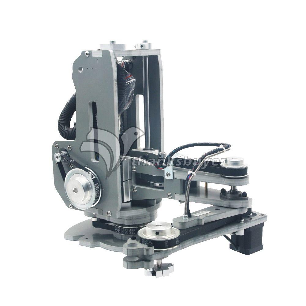 Hohe Qualität SCARA Roboter Mechanische Arm Hand Manipulator 4 Axis Schrittmotor Montiert No-Controller